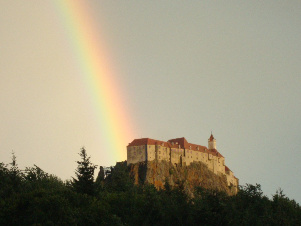 Somewhere over the rainbow in Riegersburg!